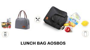 Marque Aosbos : spécialiste lunch bag pour homme, femme et enfant