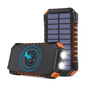 Avis chargeur solaire de poche Hiluckey 26 800 mAh