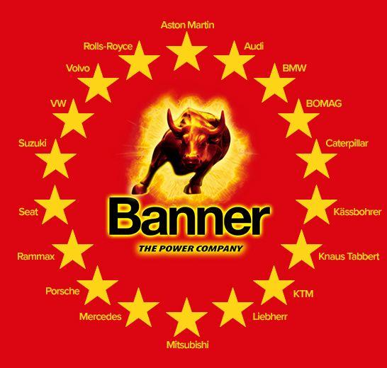 Banner Batterien sponsorise des marques prestigieuses d'automobile et de moto