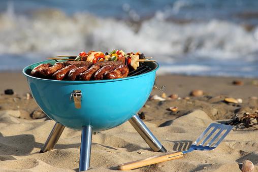 Que dit la loi pour un barbecue sur la plage ?