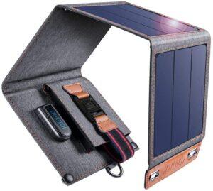 Avis du chargeur solaire Choetech 14W, pliable, design, performant et à petit prix