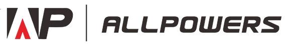 Logo du fabricant ALLPOWERS, spécialiste d'équipements solaires nomades