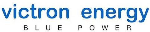 Logo de la Célèbre marque Victron Energy, Blue Power
