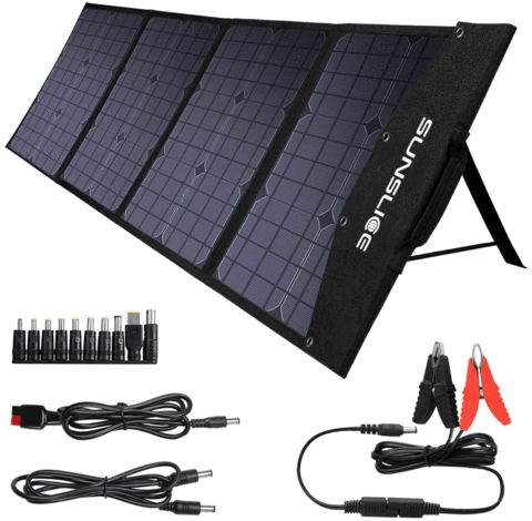 Puissant panneau solaire pliable et portable Sunslice Fusion 100