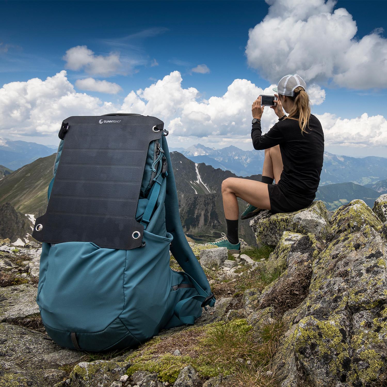 Pour les écolos et randonneurs, voyagez l'esprit tranquille avec le SunnyBAG Lead Pro