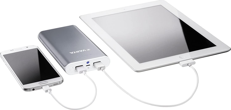 Recharge rapide de votre smartphone ou tablette avec la batterie Varta Powerpack 16000