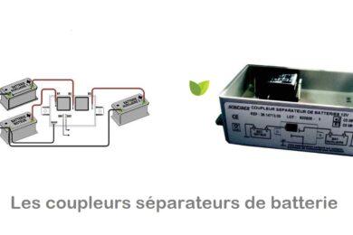Coupleur séparateur de batterie : guide d'achat + comparatif produits