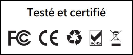 Le panneau solaire EcoFlow 110W est testé et certifié par les normes européennes