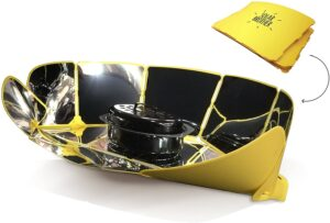 Fiche produit du four solaire Solar Brother pliable et portable