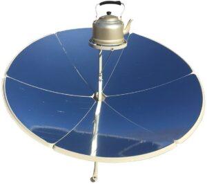 Fiche produit du grand four solaire à parabole TOPQSC
