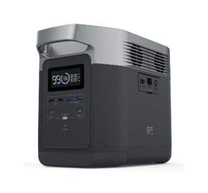 Avis et fiche produit du puissant générateur d'énergie EcoFlow Delta 1260Wh