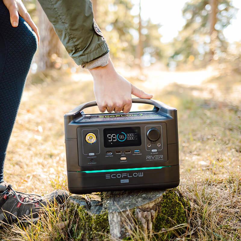 Emportez partout avec vous un générateur solaire EcoFlow