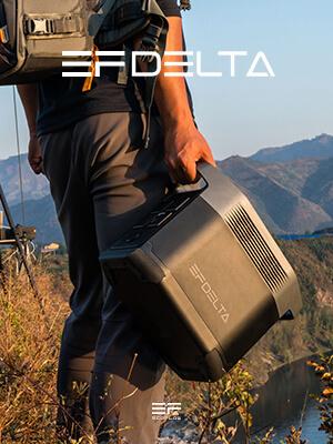 Compact et léger pour une telle puissance, découvrez le générateur solaire EcoFlow Delta