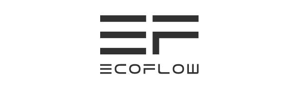 Logo EF ECOFLOW, fabricant de puissants générateurs et panneaux solaires