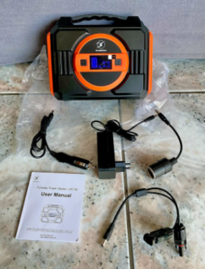 Chargeurs et câbles inclus dans le Pack du générateur solaire Flylinctech CK100