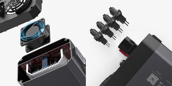 Plusieurs protections de sécurité sont intégrée au convertisseur BESTEK 1200W