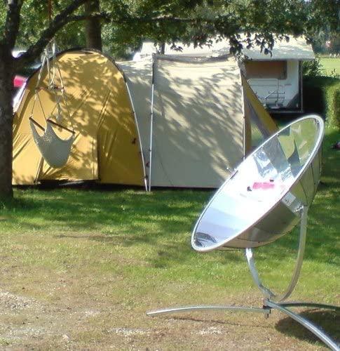 Cuiseur solaire parabole idéal pour le camping