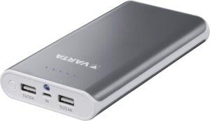 Fiche produit de la banque de puissance Varta PowerPack 16000 mAh