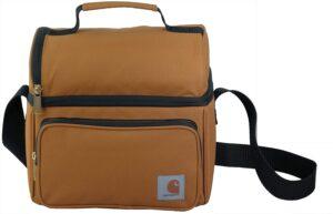 Carhartt Deluxe : un lunch bag marron sobre ultra résistant