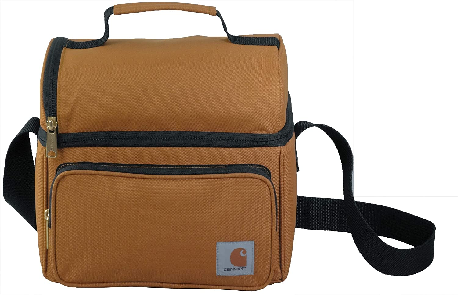 Carhartt Deluxe : un lunch bag marron sobre ultra résistant