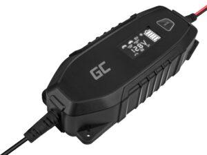 Chargeur de batterie 6/12V avec écran LCD et option testeur de batterie