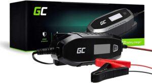 Fiche produit du chargeur de batterie voiture Green Cell 4A