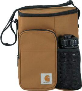 Lunch bag Carhartt de haute qualité avec bouteille de la marque intégrée