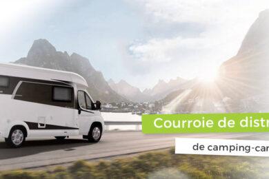 Courroie de distribution de camping-car