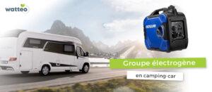 Groupe électrogène camping-car