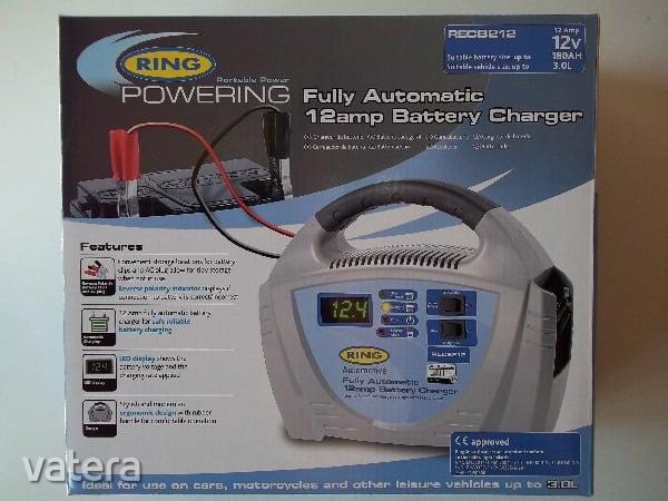 Chargeur de batterie 12 volts RECB212 de la marque réputée RING