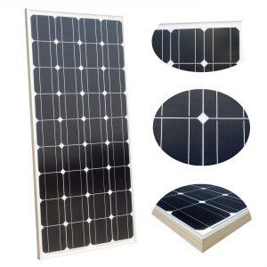 Panneau solaire monocristallin pour camping-car