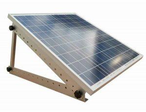 Inclinaison des panneaux solaires de camping-car