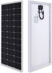 Kit solaire RENOGY de 100 watts 12 volts monocristallin pour camping-car