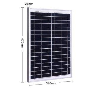 Caractéristiques du panneau solaire Betop-camp 20W