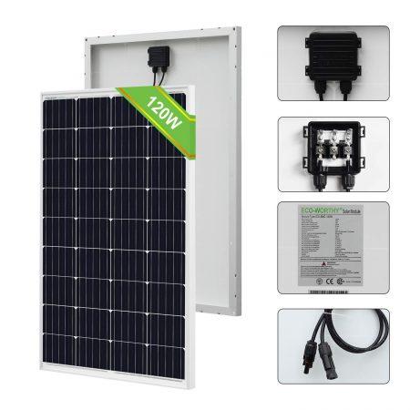 Un des meilleurs rapports qualité prix des kits photovoltaiques avec panneau monocristallin