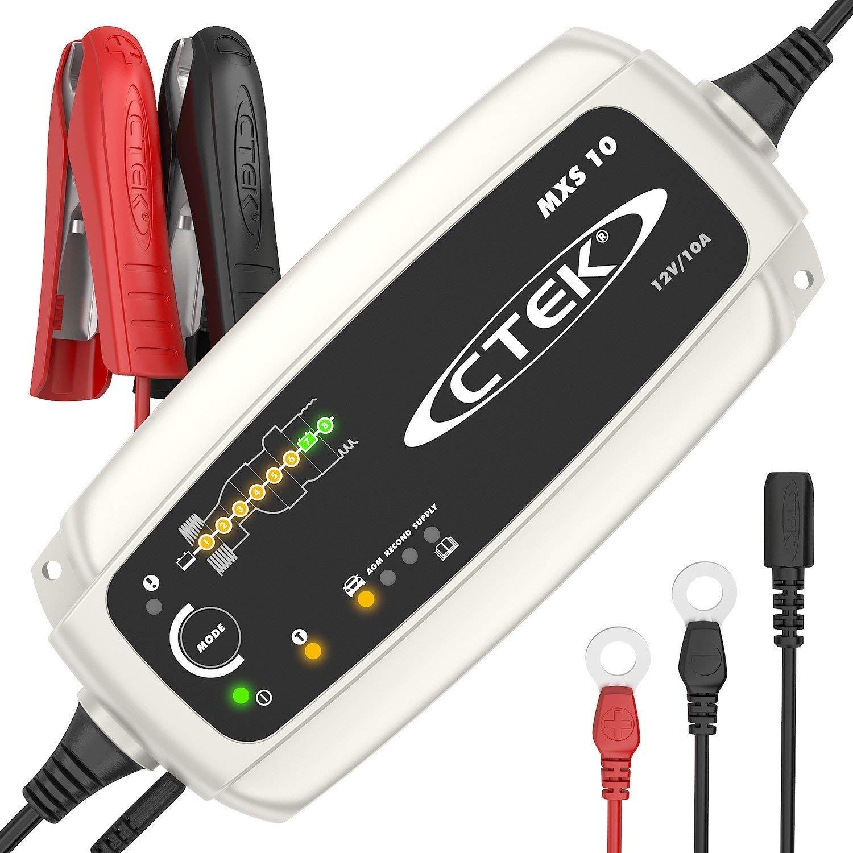 Description du chargeur de batterie CTEK MXS 10