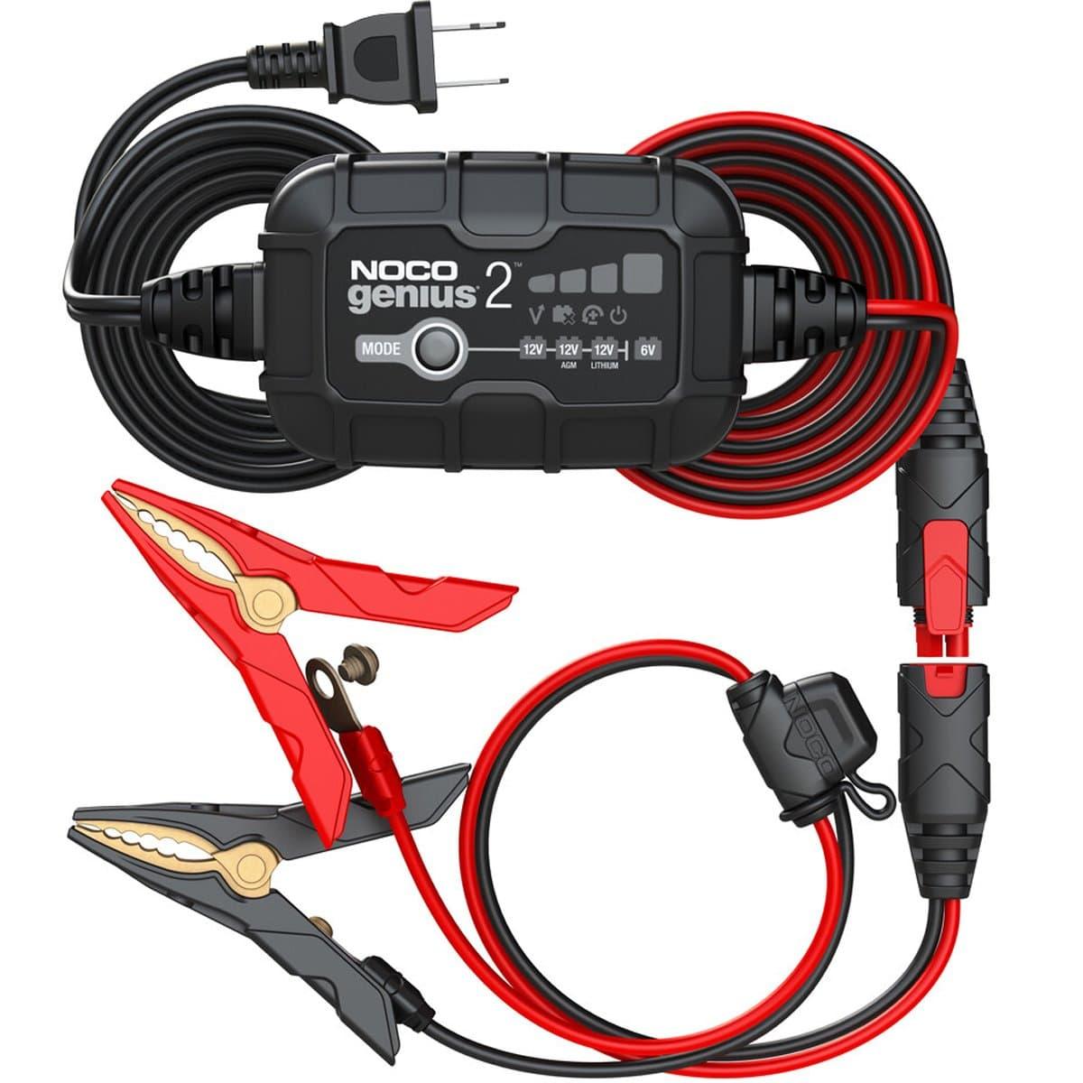 Chargeur et désulfateur de batterie : le nouveau Noco Genius 2