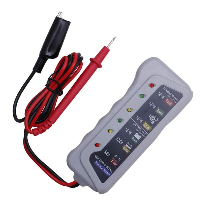 Testeur de batterie classique à LED