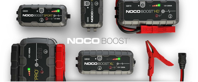 Noco Boost : Les boosters de batterie