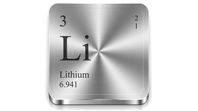Lithium : caractéristiques élémentaires