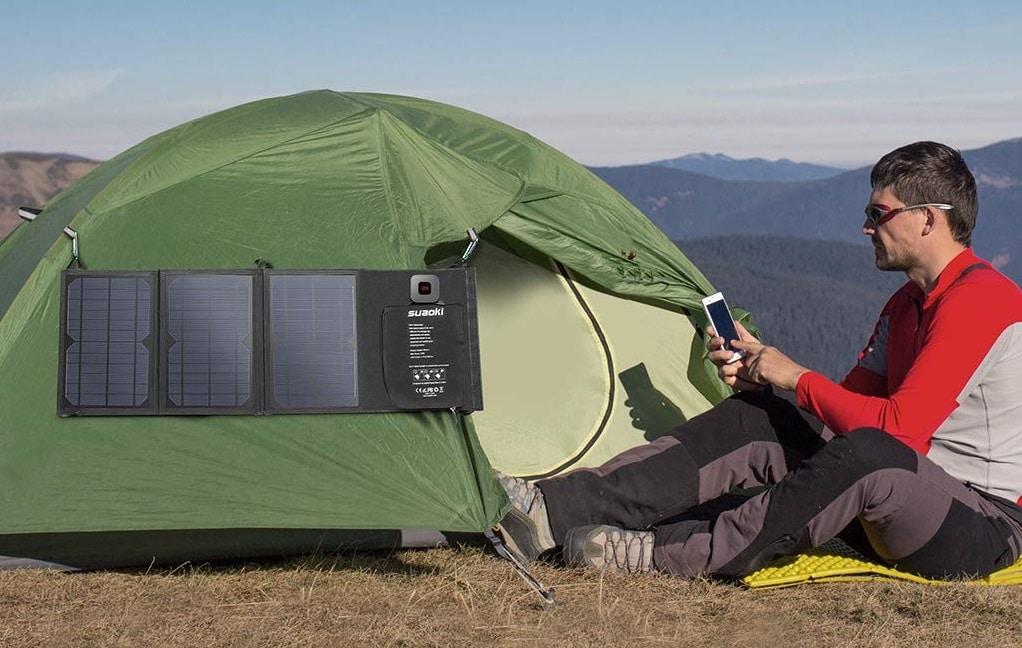 Panneau solaire portable Suaoki