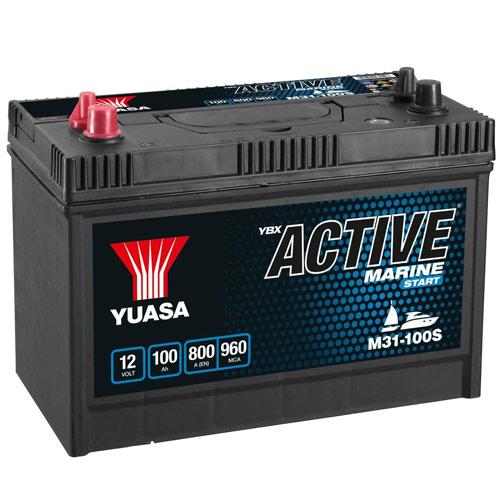 Notre avis sur la batterie Yuasa 100 Ah M31
