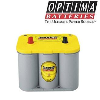 Détails de la batterie décharge lente Optima SPIRALCELL YellowTop S 4.2