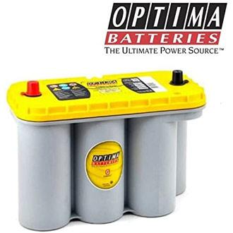 Caractéristiques de la batterie à décharge profonde Optima SPIRALCELL YellowTop S 5.5