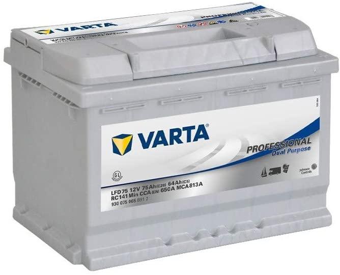 Notre avis sur la batterie Varta 75 Ah LFD75