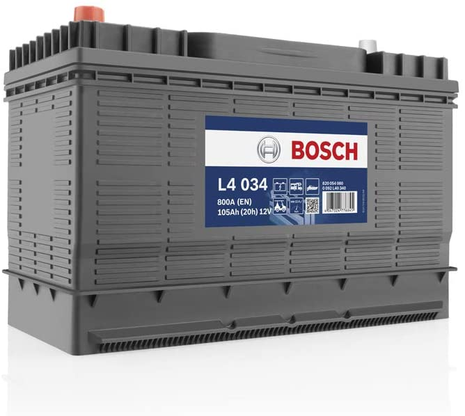 Notre avis sur la batterie Bosch 105 Ah L4034