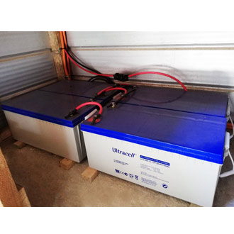 Caractéristiques de la batterie décharge lente Ultracell Gel UCG200-12