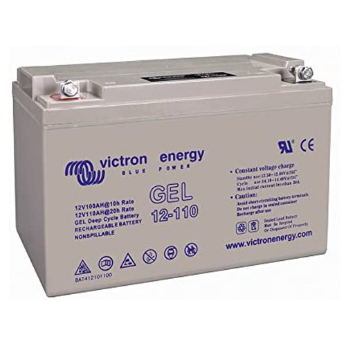 Notre avis sur la batterie Victron Energy 110 Ah BAT412101104